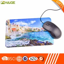 OEM Promotional Customized logo printed rubber gaming mouse pad wholesale