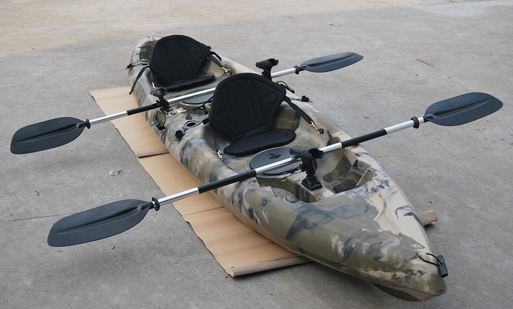 Sit on top kayak popular sot in us and au market double for Double fishing kayak