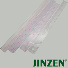Plastic Multifunctional Transparent Ruler