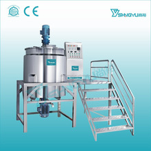 Liquid soap production line/dishwashing liquid making machine/shampoo liquid soap homogenizing mixer