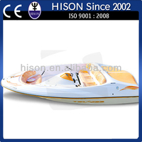 Hison factory direct sale 6 passenger racing speed boat