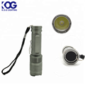 Small 1W LED flashlight 1 AA battery energy conservation torch light