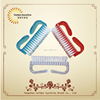 Plastic nail hand washing brushes wholesale and nail dust brushes