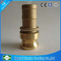 brass part e quick camlock coupling hose shank / hose fitting adapter