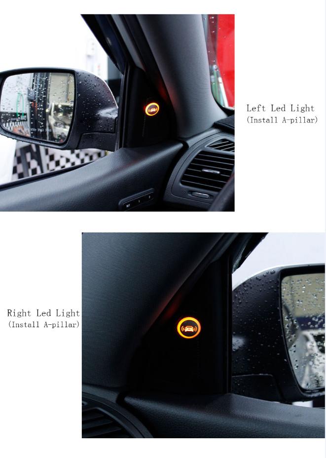 vehicle blind spot detection system bsd microwave radar anti collision sensor buy blind spot. Black Bedroom Furniture Sets. Home Design Ideas