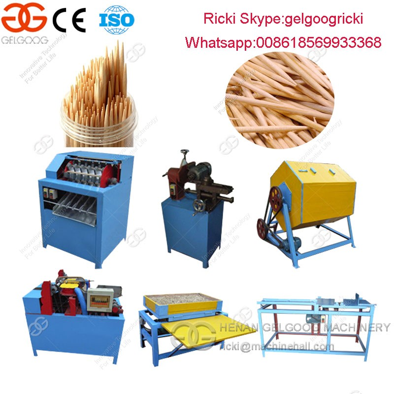 Toothpick making machine toothpick production line equipment for toothpicks