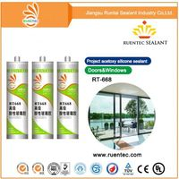 Hollow glass two component silicone sealant