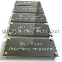 GH-RZ402 Classic High-end design Acrylic Sign Frames,Sign Holder,Display boards for company department