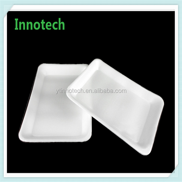 Custom Food Packaging Eco Friendly Polystyrene Processor Foam Tray