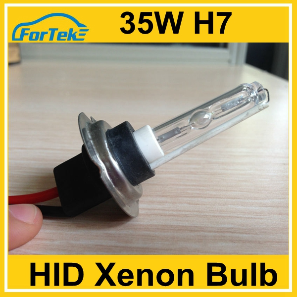 ceramic car light 35W hid xenon H7 bulb 6000k factory in china