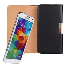 iBest Guangzhou Factory Leather Belt Clip Holster Pouch Case for Samsung Galaxy S5 I9600