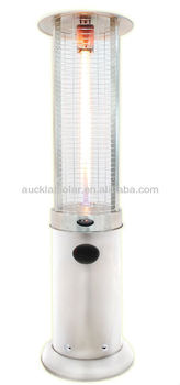 Column shape patio heater