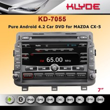 7'' HD Screen Car DVD Player with Reverse Camera for CX-5