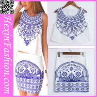 accept paypal two pcs nice design retro short casual dress