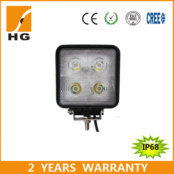 40W led driving lights 4*4 for 12 volt led car accessory light of high quality