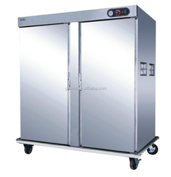 Most Popular Stainless Steel China Mobile Food Warmer with Cart For Catering(OT-22-21)