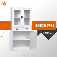 Global office furniture Two Drawer Vertical office filing cabinets