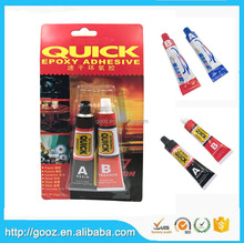 Free Sample Fast Adhesive Bulk Two-Component Epoxy Resin And Hardener AB Glue , Wholesale Price Liquid Clear Epoxy Resin