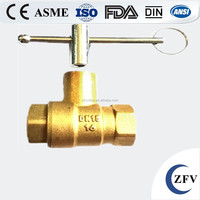 Factory Price 4 inch cw617n forged manufacturer mini brass ball valve