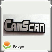 Custom aluminum metal nameplate for security monitor