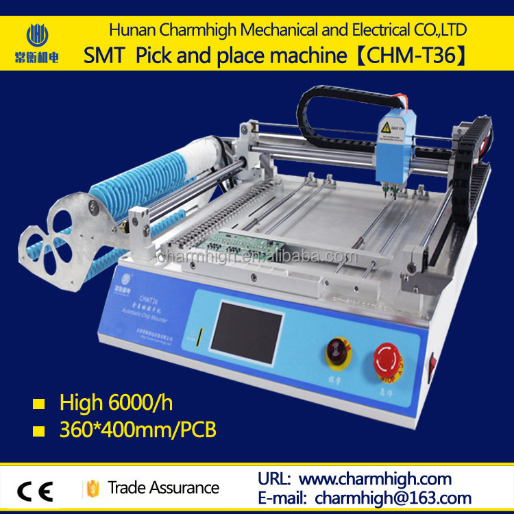 Mini Benchtop SMT Chip Mounter LED Pick and Place Machine