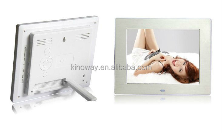 8 inch multifunctional digital picture frame
