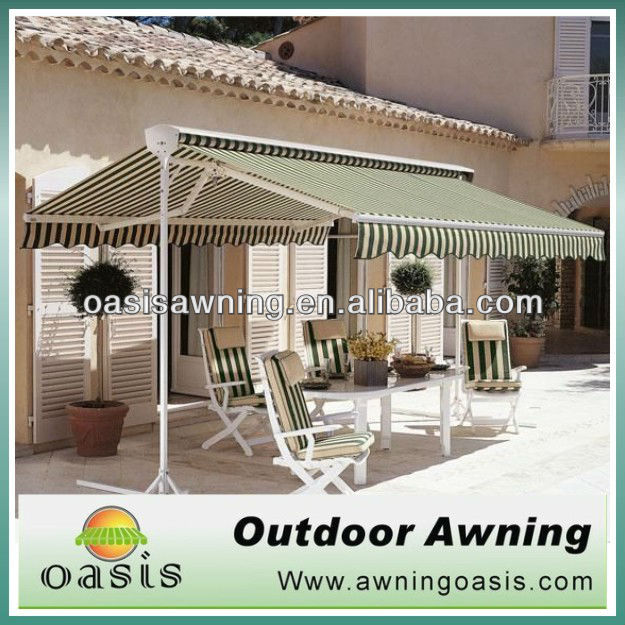 outdoor movable freestanding awning
