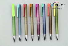 New press ballpoint pen color with special color clip use parker refill