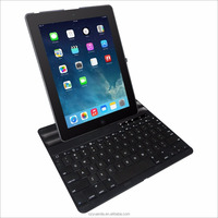 Designed Vertical Multi-angle Watch Stand Keyboard Case Cover Bluetooth Compatible for iPad 2 3 4