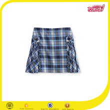 Japanese school girl 100% cotton navy blue plaid skirt sexy girls photos with mini