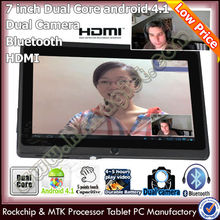 Cheapest 7 dual core ddr3 motherboard mid q88 bluetooth hdm i