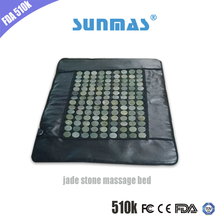 HOT electric body massage stone bed for massage cushion