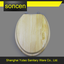 Chinese wholesaler high quality eco-Friendly custom made wood toilet seat covers