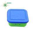 hot selling unbreakable silicone coated glass lunch box for kids and staff in stock
