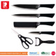 imported german steel butter 6pcs non-stick kitchen knife set