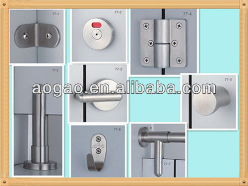 304 stainless steel toilet cubicle adjustable support leg