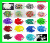 Direct sale from factory high Quality new design Colorful rubber loom bands made in china