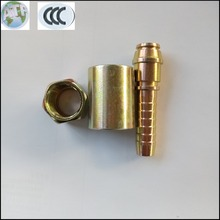 Cheap price low carbon steel quick fitting nut hydraulic hose ferrule