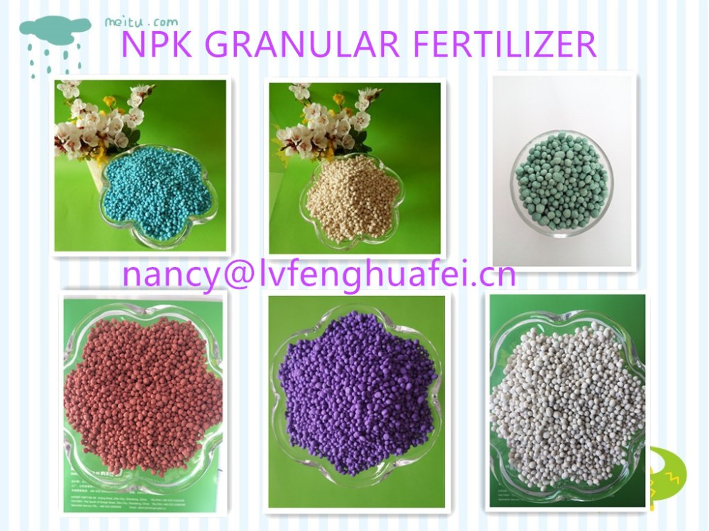 High nitrogen NPK fertilizer 23-10-5