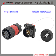 High Quality watertight electrical 7pin connector audio cables and connectors ip65 7pin waterproof bayonet connectors
