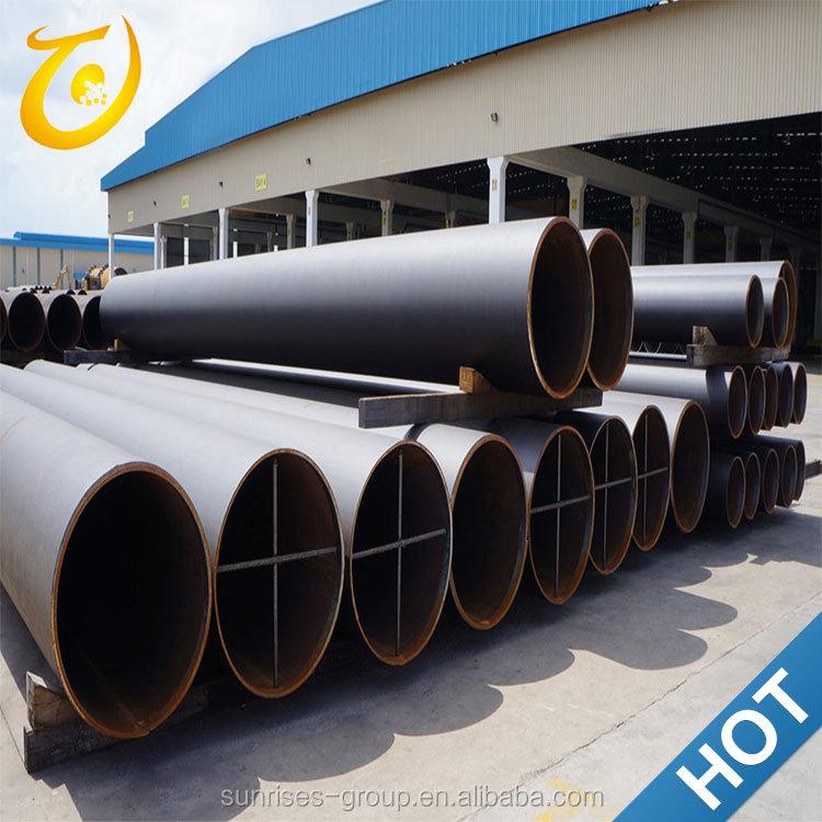Top New Round Polyethylene Large Diameter Plastic Coated Steel Pipe