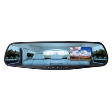 Portable Digital Video Recorder Car Rearview Mirror Front Rear Camera Car DVR