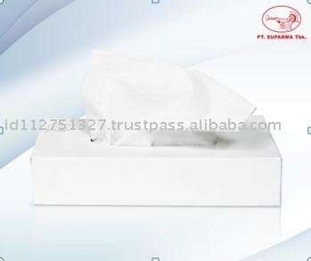 Facial Tissue Hard Pack 100% Virgin Pulp PL-02-1