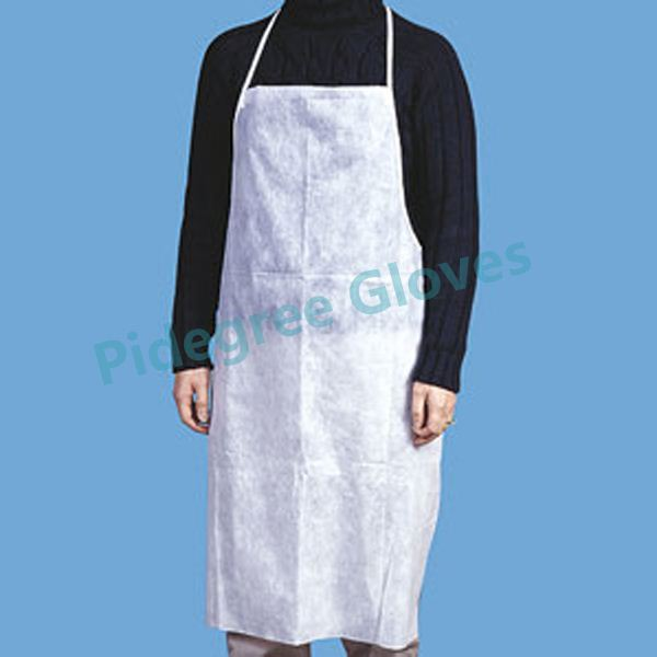 hair cutting disposable pe apron