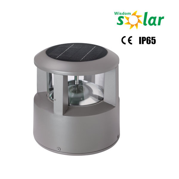 2016 New design aluminum solar garden light solar lawn lights outdoor solar garden lamp