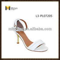 new model of high heel woman sandals with low price