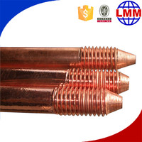 best price bonded earth rod factory chemical earth rod made in China UL certificated