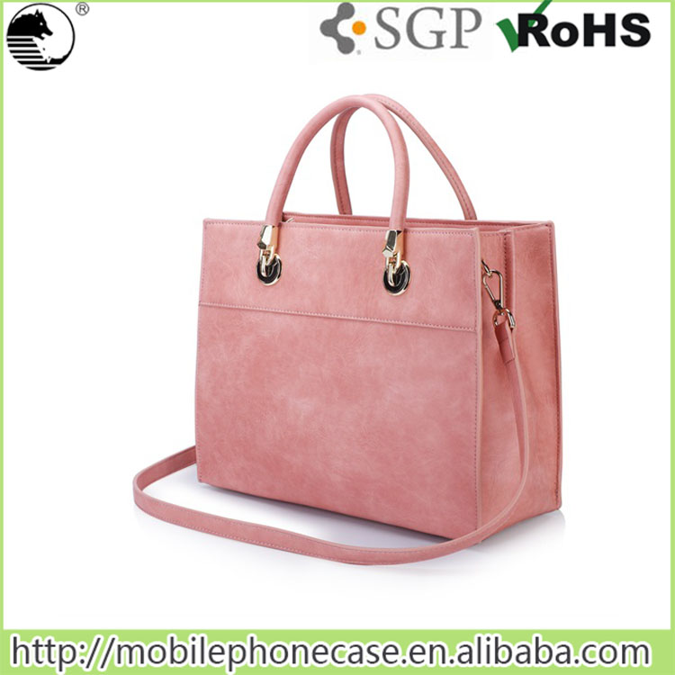 Young Women Shoulder Bag Design Leather Lady Handbag