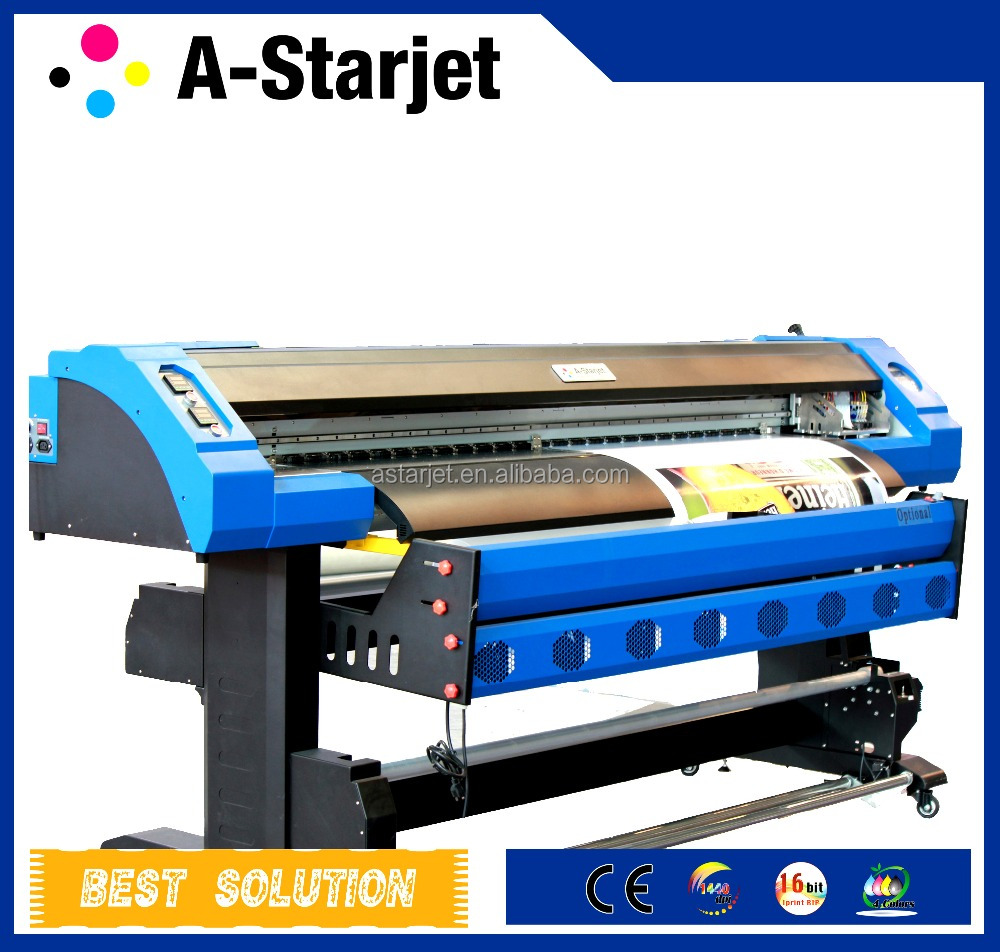 Large Format Digital Eco-solvent Printer, DX7 Print Head, Exihibition Graphics printer