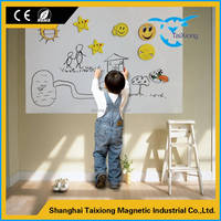Magnetic Flexible WhiteBoard Plastic Sheet